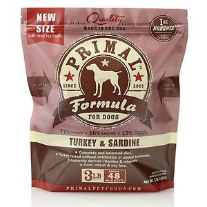 Primal Canine Turkey and Sardine Raw Frozen Formula