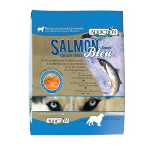 Addiction Grain-Free Salmon Bleu Dry Dog Food